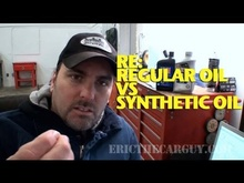 Eric the Car Guy discusses regular vs. synthetic oil.