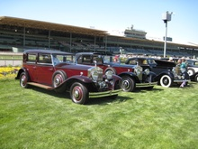 Two Rolls-Royce Phantom IIs, both from the AJS/AMS series which were built in England for ...