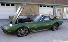 1973 Corvette Stingray Convertible Project. The seller of this 1973 Corvette Stingray is somewhat vague ...