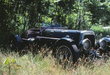 Aston Martin Ulster once owned by Massachusetts collector Basil Sculley.
