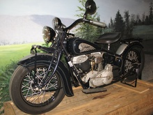 "1934 Indian Chief ""Bobber"" Indian Nation: Indian Motorcycles & America Exhibit at the AACA Museum ..."