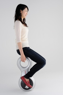 Honda's answer to the Segway.