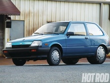 This might be the ULTIMATE sleeper. This little unassuming Chevy Sprint is hiding a 1,300 ...