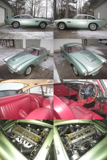 1961 Aston Martin DB4/693/R. Original RHD. One owner 30+ years. All mechanical components including engine ...