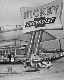 Nickey Chevrolet Buys the Famous Chuck Daigh Scarab