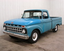 1965 Ford Custom Cab True Short Box half ton, Strong Factory 351 2brl and 3 ...