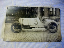 I'M PLEASED TO OFFER THIS VERY UNIQUE RPPC REAL PHOTO POSTCARD OF A COMPETITIVE RACE ...