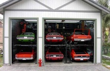 I know these aren't trucks, but this is my dream car garage.