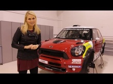 Pole Position's Rosanna Tennant spent a day at Prodrive's MINI John Cooper Works World Rally ...