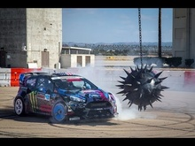 Ken Block's Gymkhana 6. You seriously need to watch this.