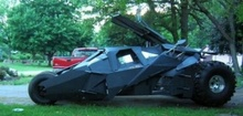 Home made tumbler (bat mobile) and other awesome custom whips
