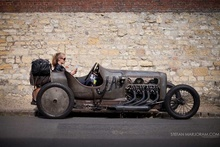 The 2013 French Grand Prix Centenary at Amiens: Enthusiasts drove from the U.K. and Europe ...