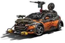 Yet another Hyundai has been customized in preparation for the Zombie Apocalypse, as The Walking ...