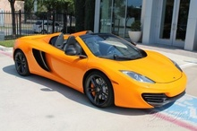 1 Owner Texas Owned and Operated Original MSRP $306, McLaren MP4-12C Spider Options Include: Alcantara ...