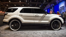 2013 Ford Explorer Sport by Forgiato at SEMA.