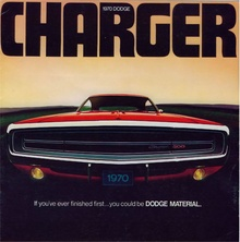 1970 ad for Dodge Charger.