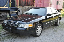 Don't laugh, a police interceptor Crown Vic is one hell of a daily driver!