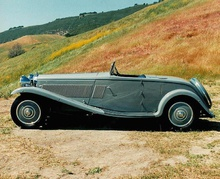 1934 Lagonda M45 one-off roadster by Wylders of Kew.