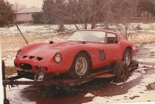 Ferrari GTO #3589, interesting story of being raced (Innes Ireland), brought to the States, donated ...