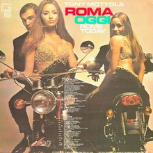 "Back cover of Tony Mattola ""Rome Today"" from 1968."