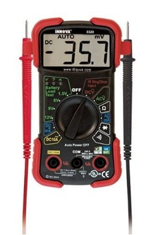 INNOVA 3320 Auto-Ranging Digital Multimeter. $20.00 The INNOVA 3320 is a Auto-Ranging Multimeter designed to ...