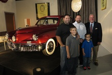 "Tucker #1001 - First ""production"" prototype with the family of Preston Tucker at the Grand ..."