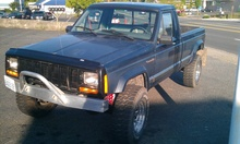 The good 'ol jeep Comanche. Why did this get discontinued again?