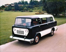 A 1950's Jeep mini-van. Designed by Brooks Stevens and built by Reutter this is one ...