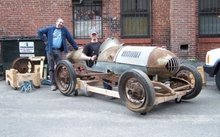 This 1947 Ford belly tank racer was built by a young woman during WWII. She ...