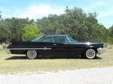 1960 Chrysler 300F Special Gran Turismo. See details at Car & Classic web site (UK).