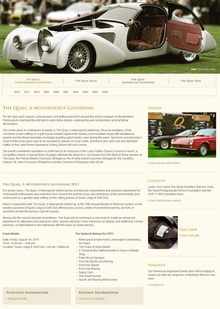 "In ten short years, the Quail Motorsports Gathering held during the Monterey ""car week"" has ..."