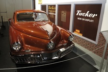 Tucker #1026 - the only remaining Tucker with automatic transmission. Part of the new permanent ...