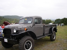The Dodge Power Wagon is the baddest of the bad. This one is a 1956.