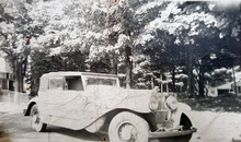 1930 DV-32 Stutz owned by my father in the 1940s. Photo at Geneva Rd., Haggets ...
