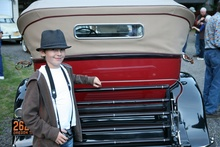 Philip Spencer (my brother) in Eastern Oregon with the 2013 CCCA Mini Tour. This Packard ...