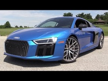 2017 Audi R8 V10 Plus - Start Up, Road Test & In Depth Review.