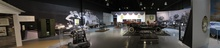 Panoramic view of the Cammack Tucker Gallery at the AACA Museum - Hershey, PA. The ...