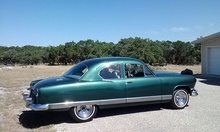 1951 Kaiser Deluxe Coupe. Few coupes built. GM V6 and automatic. Inquire