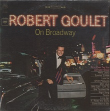 """Robert Goulet on Broadway"" with 1965 Chrysler Imperial Ghia Limo. Thanks to Ron Verschoor for ..."