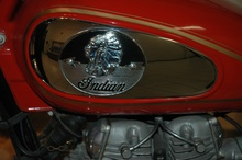 Indian Motorcycle Indian Nation: Indian Motorcycles & America Exhibit at the AACA Museum in Hershey, ...