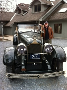 Toronto friend Oliver Collins pays a visit to the Killorins and drives his first prewar ...